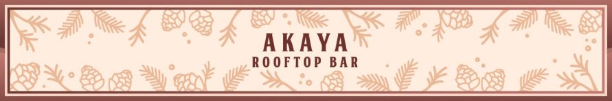 Akaya Rooftop Bar Banner